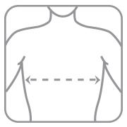 Корректор осанки эластичный с ребрами жесткости