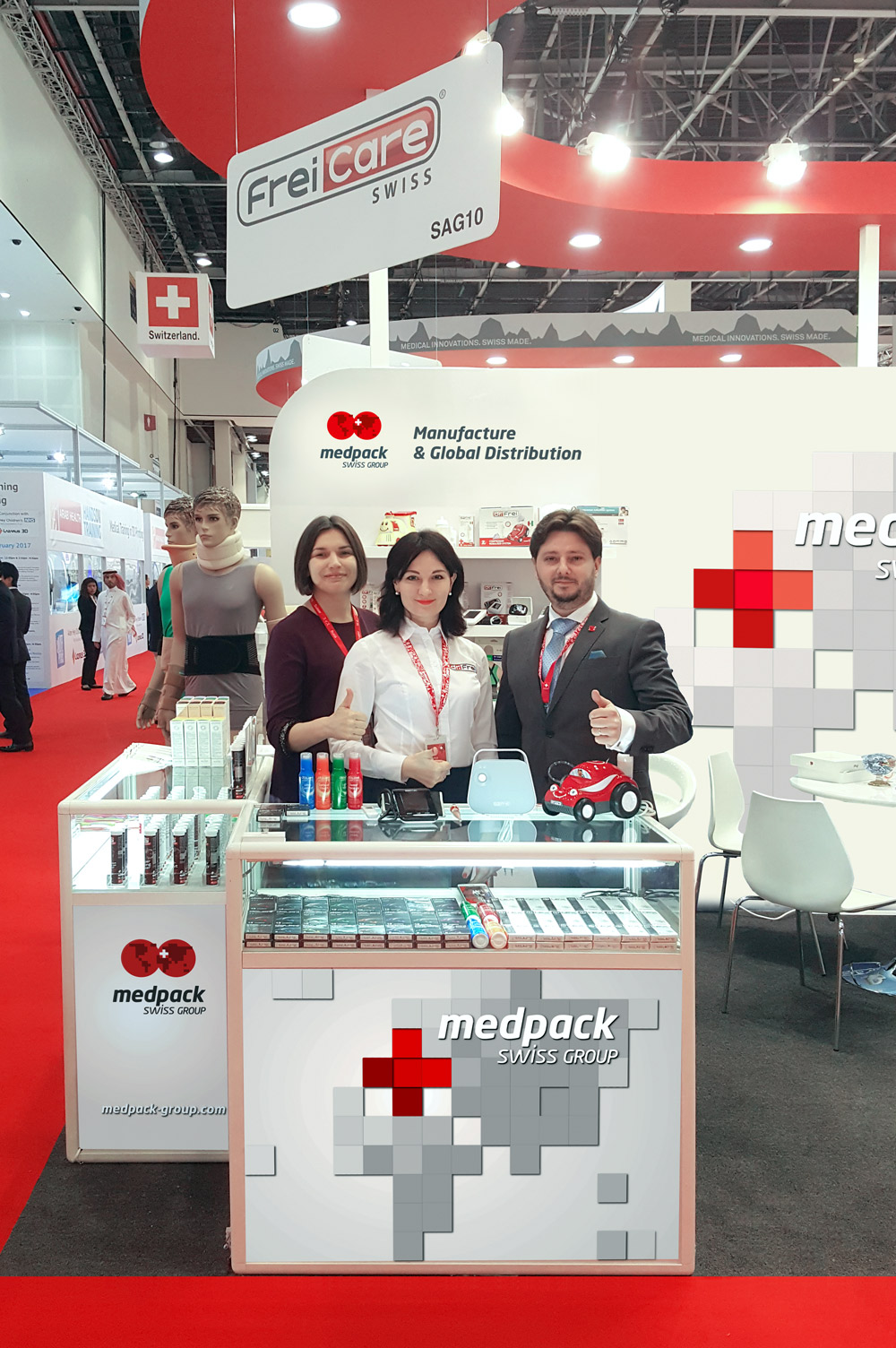 Welcome to Our Stand at Arab Health 2017!